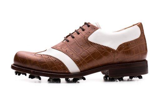 Eurico Oxford Golf Shoe   Centenario Shoes   Made in Portugal