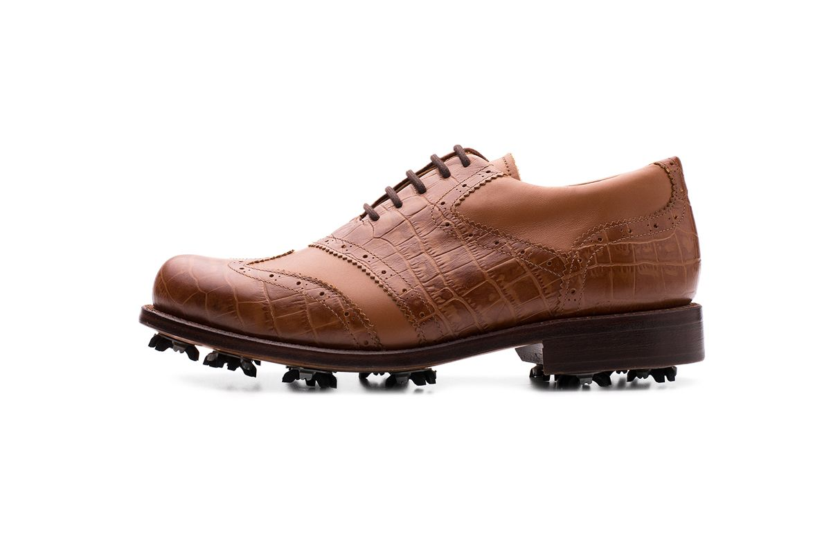 Saraiva Wingtip Oxford Golf Shoe | Centanario Shoes | Made in Portugal