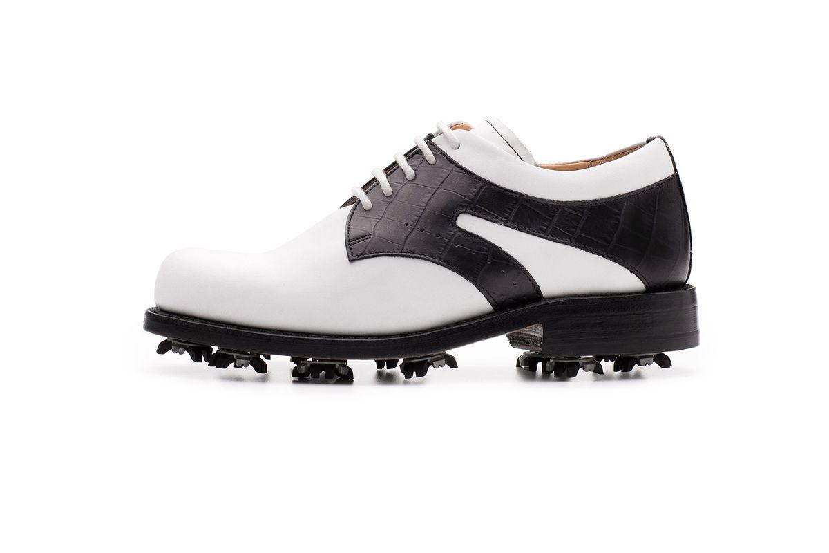Silveira Derby Golf Shoe   Centenario Shoes   Made in Portugal